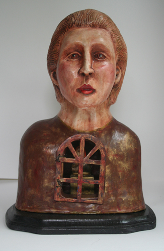 bust with door