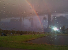 September 2012 - Flight Cancelled Rainbow over Amsterdam
