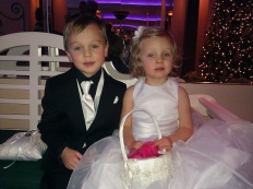 December 2012 - Ring Bearer and Flower Girl