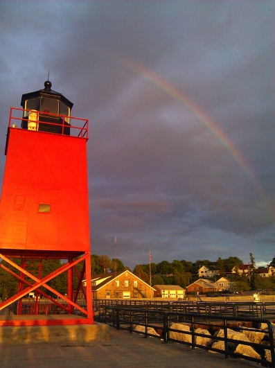 June 2012 - Lighthouse, Charlevoix, MI