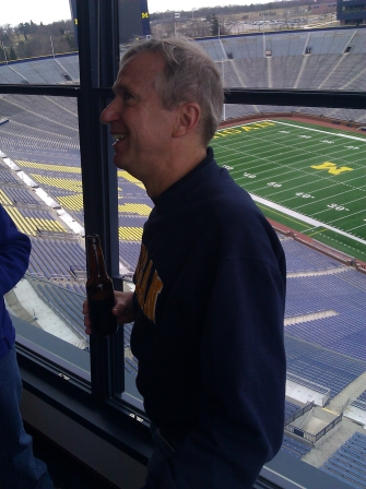March 2012- Wedding Shower at UM- Stadium, Ann Arbor, MI