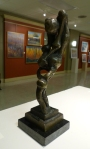 """Hunger"" Bronze sculpture by Mary Bachman"