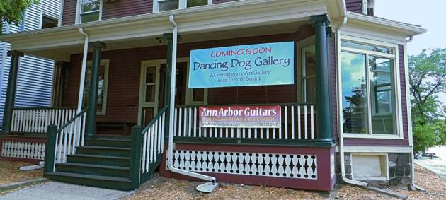 Opening Soon Dancing Dog Gallery in Ann Arbor.