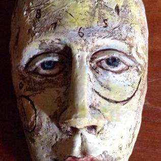 Glazed Clay Piece to Cast